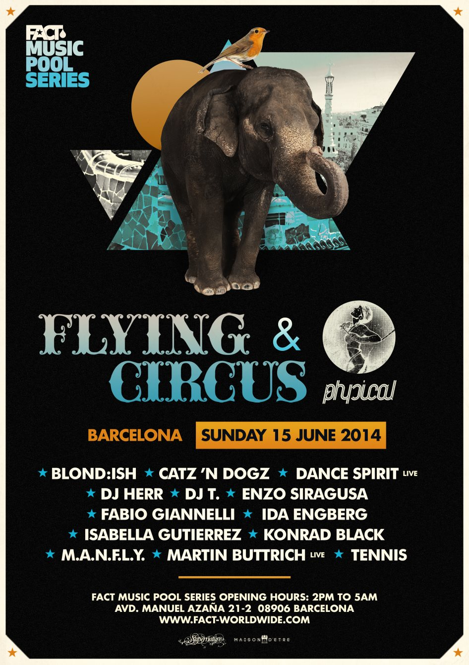 download → Martin Buttrich (live) - Get Physical & Flying Circus, FACT Music Pool Series (OFF Sonar Week 2014, BCN) - 15-Jun-2014