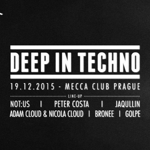 download → Golpe - live at Deep In Techno, Mecca Club (Prague) - 19-Dec-2015