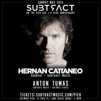 download → Hernan Cattaneo - Live @ Subtract On The Pier 025 (California, United States) - 20-May-2018