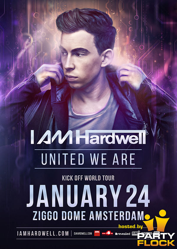 download → Hardwell - live at I Am Hardwell #UnitedWeAre, Ziggo Dome, Amsterdam - 24-Jan-2015