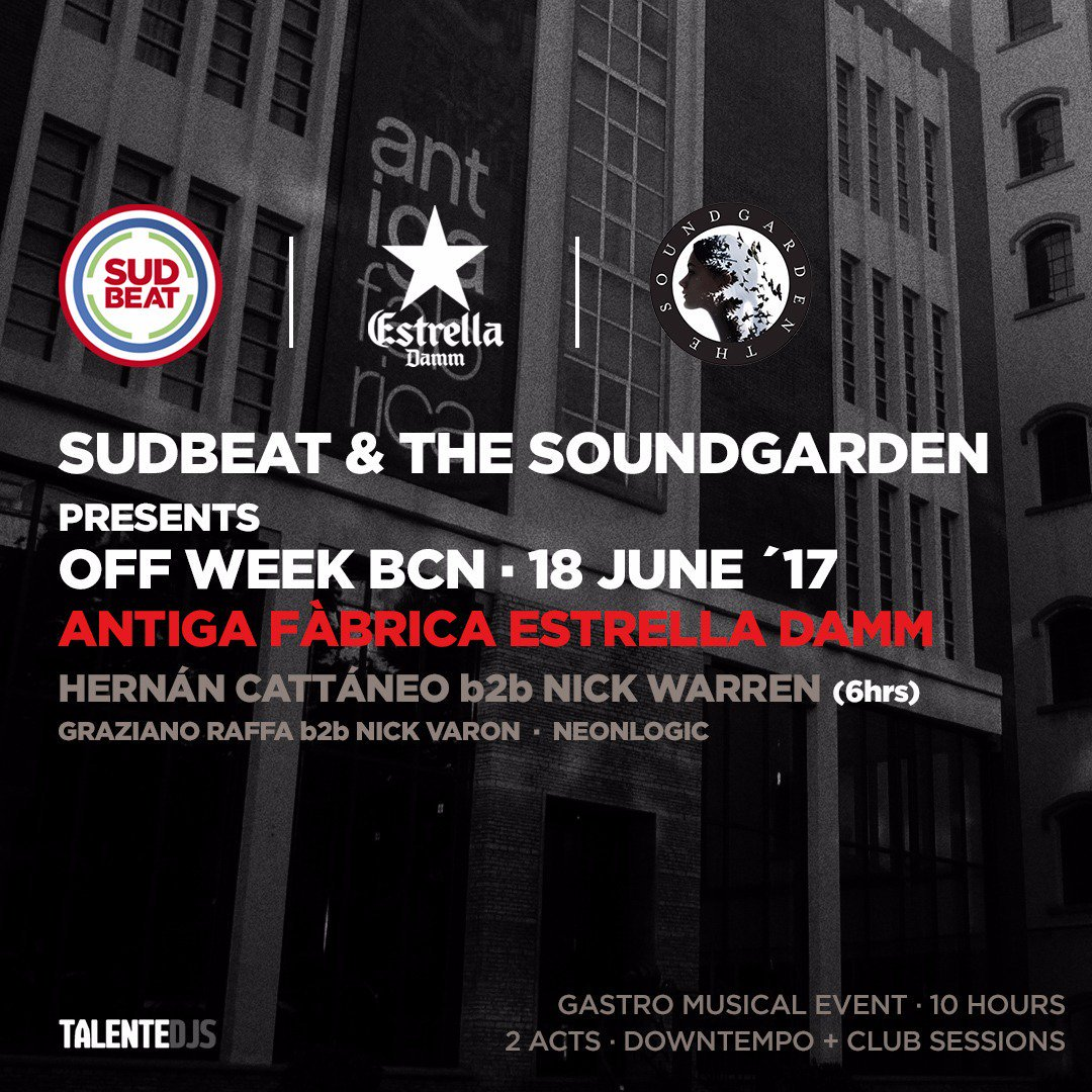 download → Hernan Cattaneo B2B Nick Warren - live at Subdeat x SoundGarden (Antiga Fabrica Estrella Damm, Sonar OFF Week 2017) - 18-Jun-2017