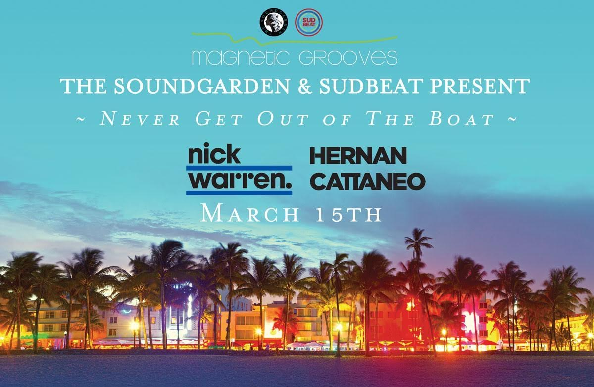 download → Hernan Cattaneo B2B Nick Warren - live at Never Get Out Of The Boat, Biscayne Lady (WMC 2017, Miami) - 15-Mar-2016