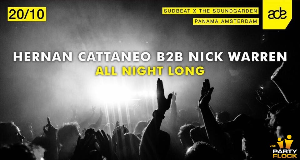 download → Hernan Cattaneo b2b Nick Warren - live at Soundgarden x Sudbeat (ADE 2017) - FULL 7.5 HOURS - 20-Oct-2017