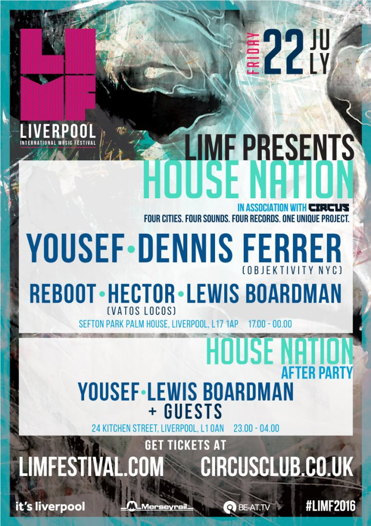 download → live sets from House Nation (Sefton Park Palm House, Liverpool) - 22-Jul-2016