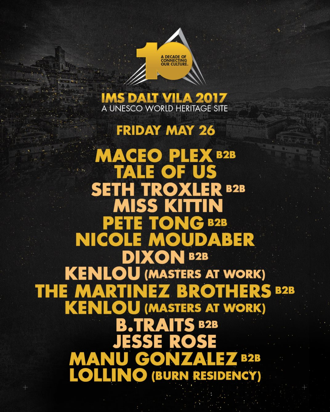 download → Lollino B2B Manu Gonzalez - live at IMS Dalt Villa 2017 (Ibiza) - 26-May-2017