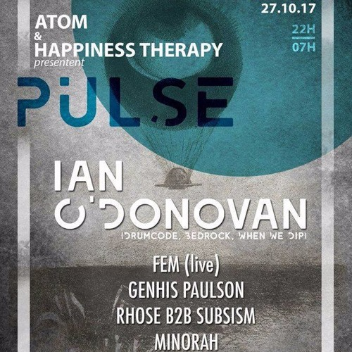 download → Ian O'Donovan - live at Pulse, Dijon - 27-Oct-2017