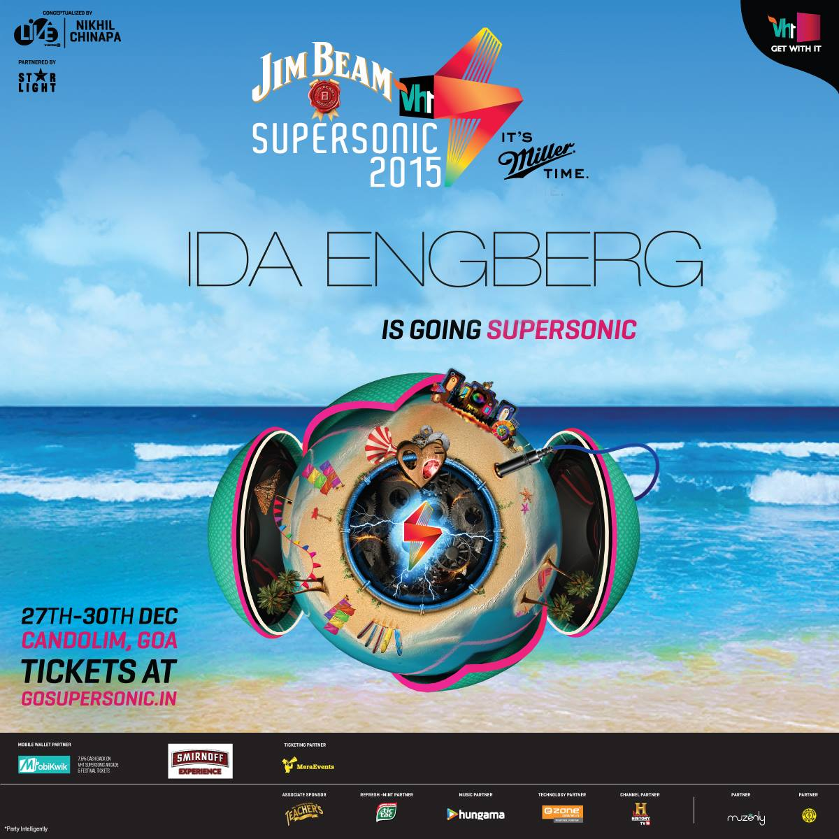 download → Ida Engberg - live at VH1 Supersonic 2015 (Goa, India) - 27-Dec-2015