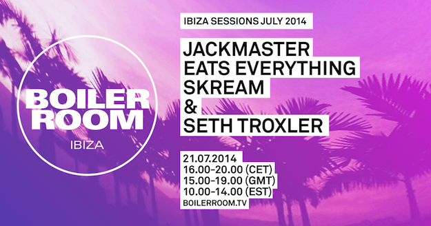 download → J.E.S.u.S. (Jackmaster, Eats Everything, Skream & Seth Troxler) - live at Boiler Room, Ibiza - 21-Jun-2014