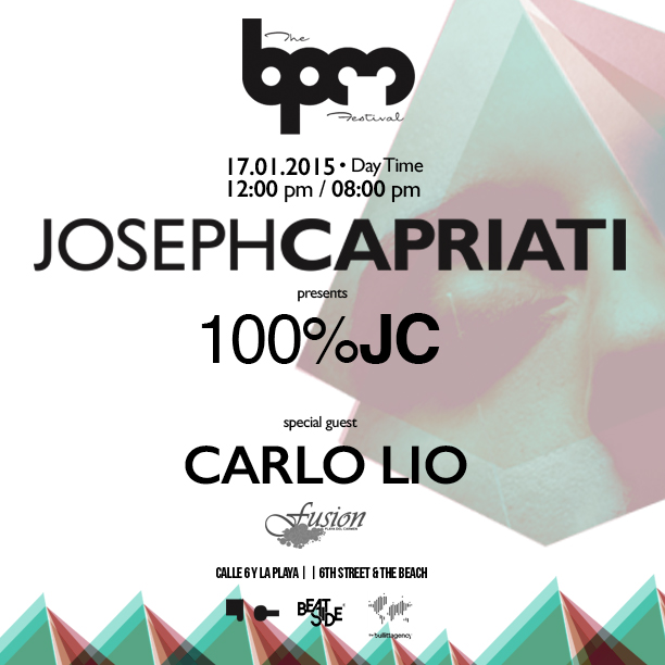 download → Joseph Capriati - Live at Fusion Beach (The BPM Festival 2015, Mexico) [7Hr Set] - 17-Jan-2015