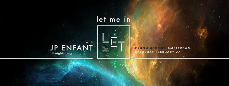 download → JP Enfant - live at LET ME IN (Amsterdam) - 27-Feb-2016