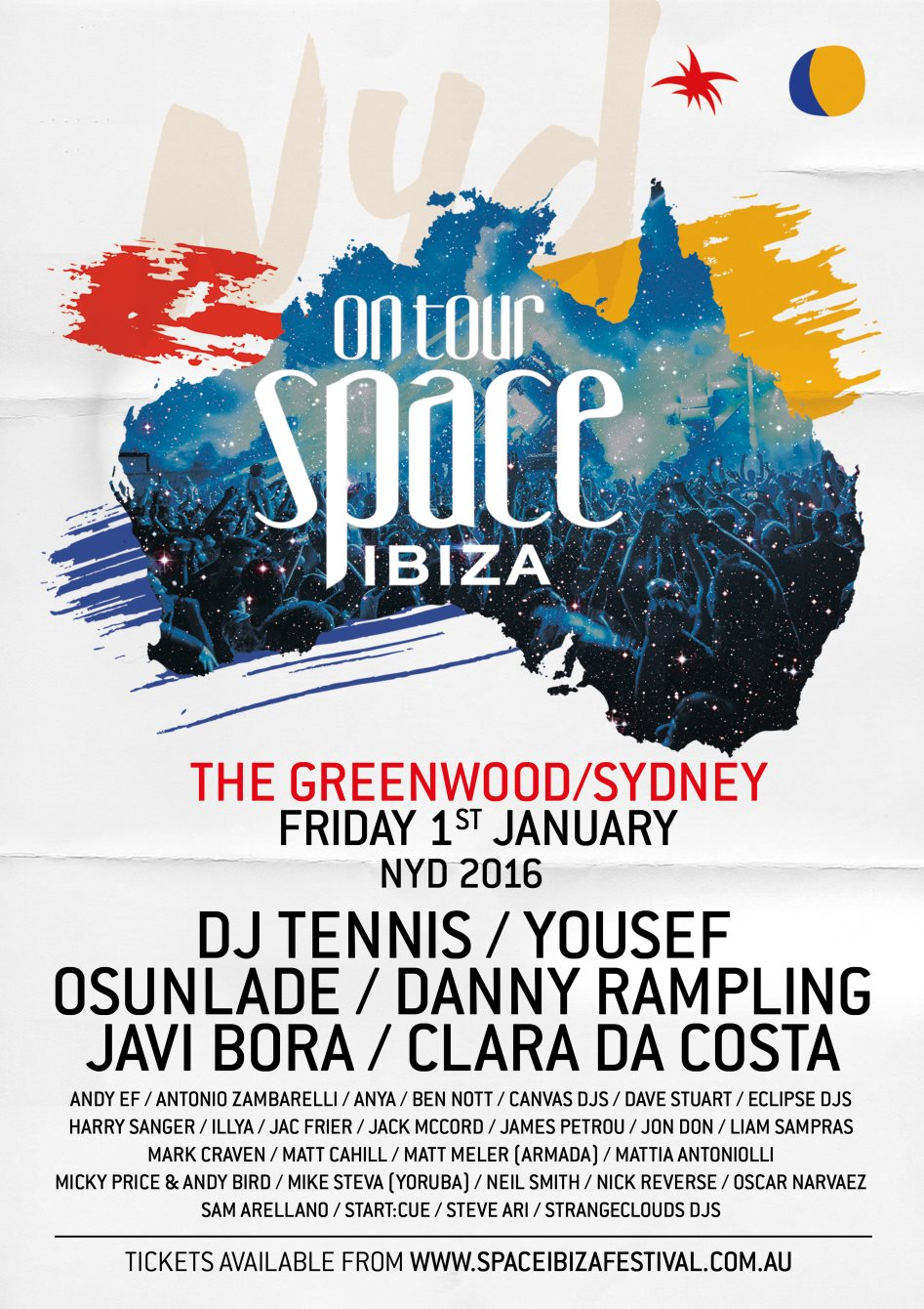 download → Javi Bora - live at Space Club (Greenwood, Sydney, Australia) - 01-Jan-2016