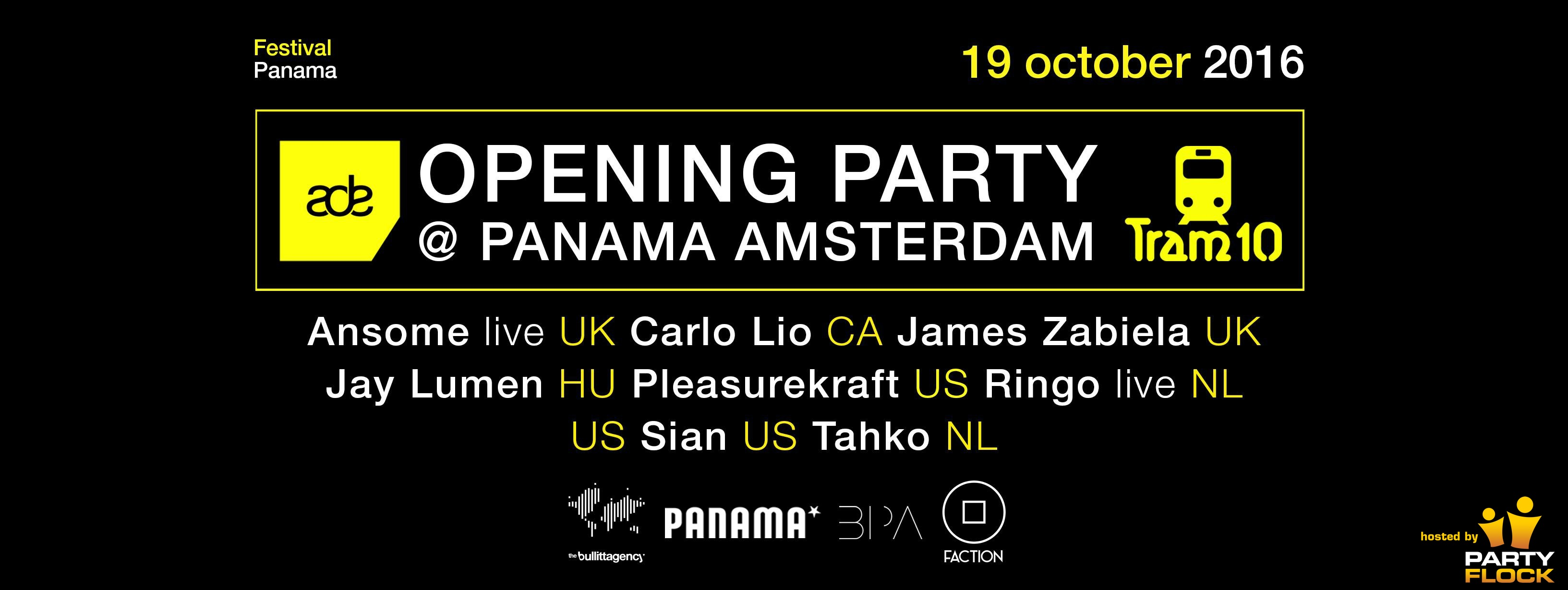 download → Jay Lumen - live at Panama Opening Party (ADE 2016, Amsterdam) - 19-Oct-2016