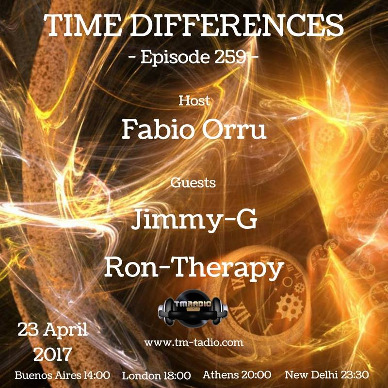 download → Jimmy G, Ron-Therapy - Time Differences 259 on TM Radio - 23-Apr-2017