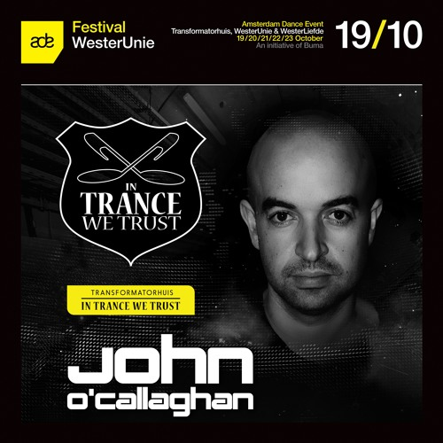 download → John O'Callaghan - live at ITWT (ADE 2016, Amsterdam) - October 2016