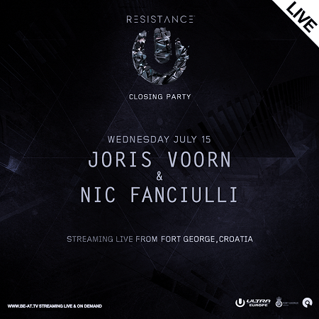 download → Joris Voorn b2b Nic Fanciulli  - Live At Ultra Europe Closing Party 2015, Fort George (Split, Croatia) - 15-Jul-2015