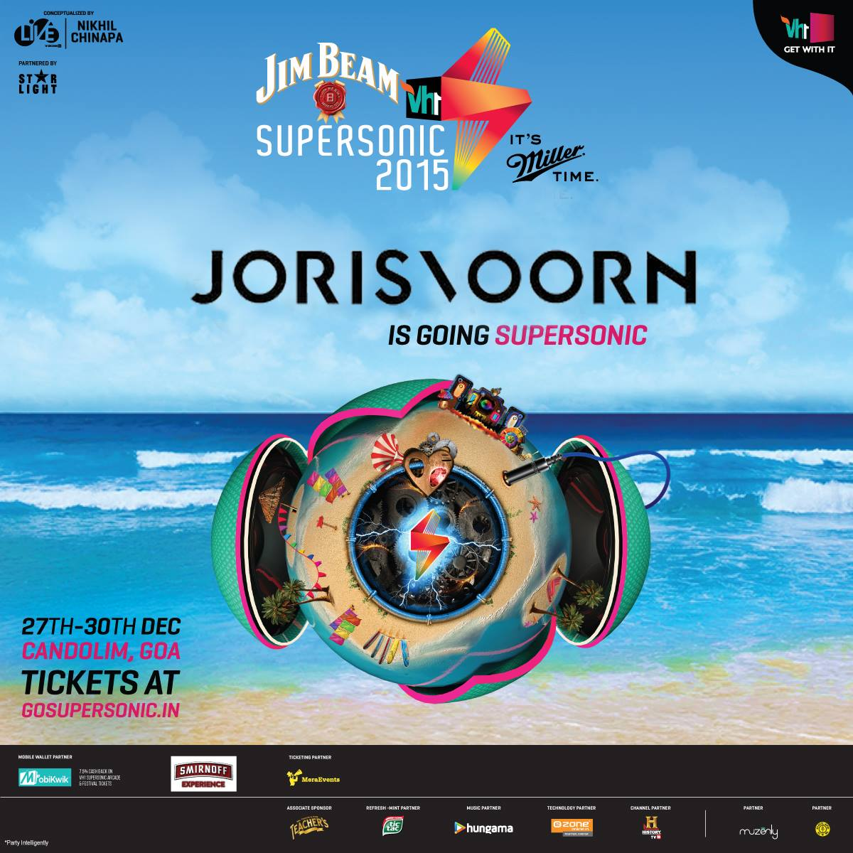 download → Joris Voorn - live at VH1 Supersonic 2015 (Goa, India) - 28-Dec-2015