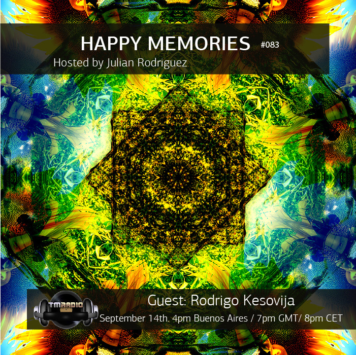 download → Julian Rodriguez, Rodrigo Kesovija - Happy Memories 083 on TM Radio - 14-Sep-2015