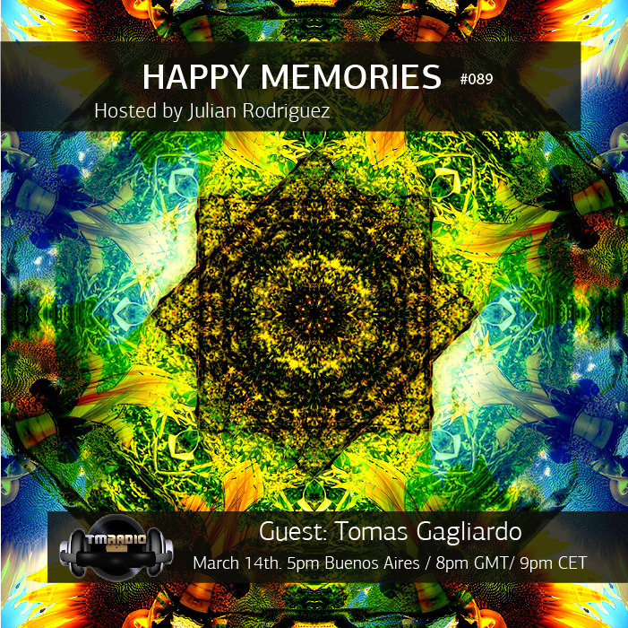 download → Julian Rodriguez, Tomas Gagliardo - Happy Memories 089 on TM Radio - 14-Mar-2016