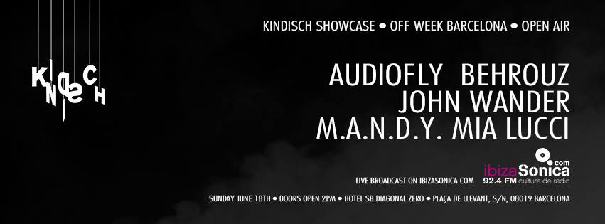 download → John Wander - live at Kindisch Showcase (SB Diagonal Hotel, Sonar Off Week 2017) - 18-Jun-2017