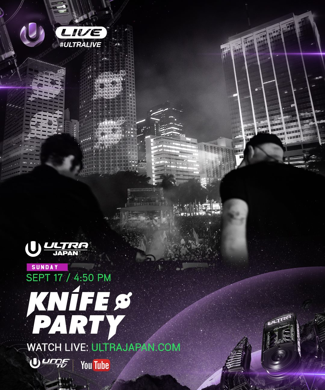 download → Knife Party - live at Ultra Music Festival 2017 (Japan) - 17-Sep-2017
