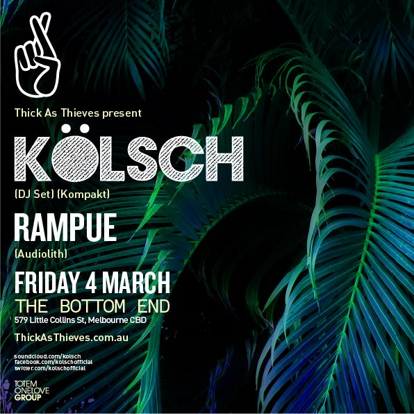 download → Kolsch - live at Bottom End (Melbourne) - 04-Mar-2016
