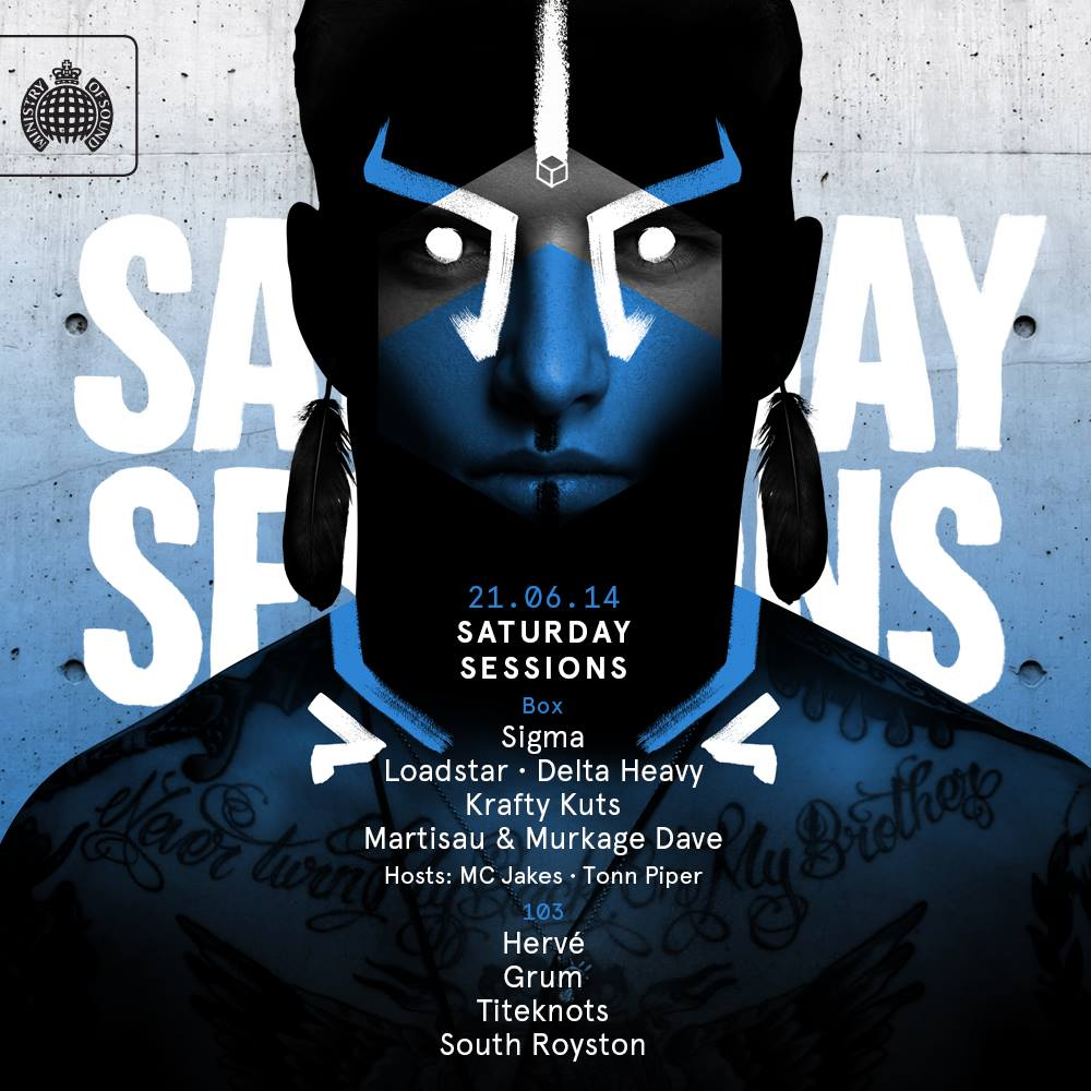 download → Krafty Kuts, Loadstar, Sigma, Martisau and Murkage Dave - live at Ministry Of Sound, London - 21-Jun-2014