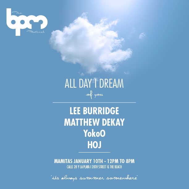 download → Hoj - live at All Day I Dream, Martina Beach (THE BPM 2017, Mexico) - 07-Jan-2017