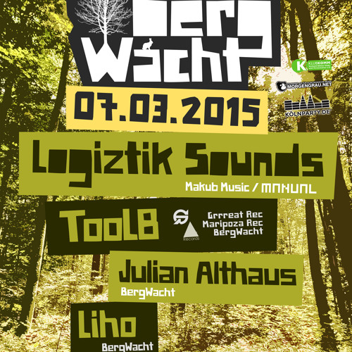 download → Logiztik Sounds - live at BergWacht Artheater (Cologne) - 07-Mar-2015