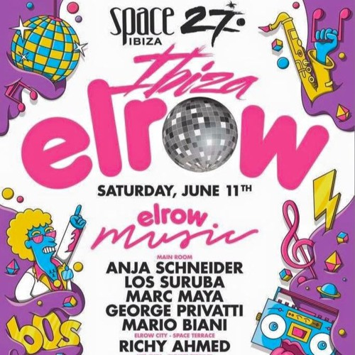 download → Los Suruba - live at Elrow (Space Ibiza) - 11-Jun-2016
