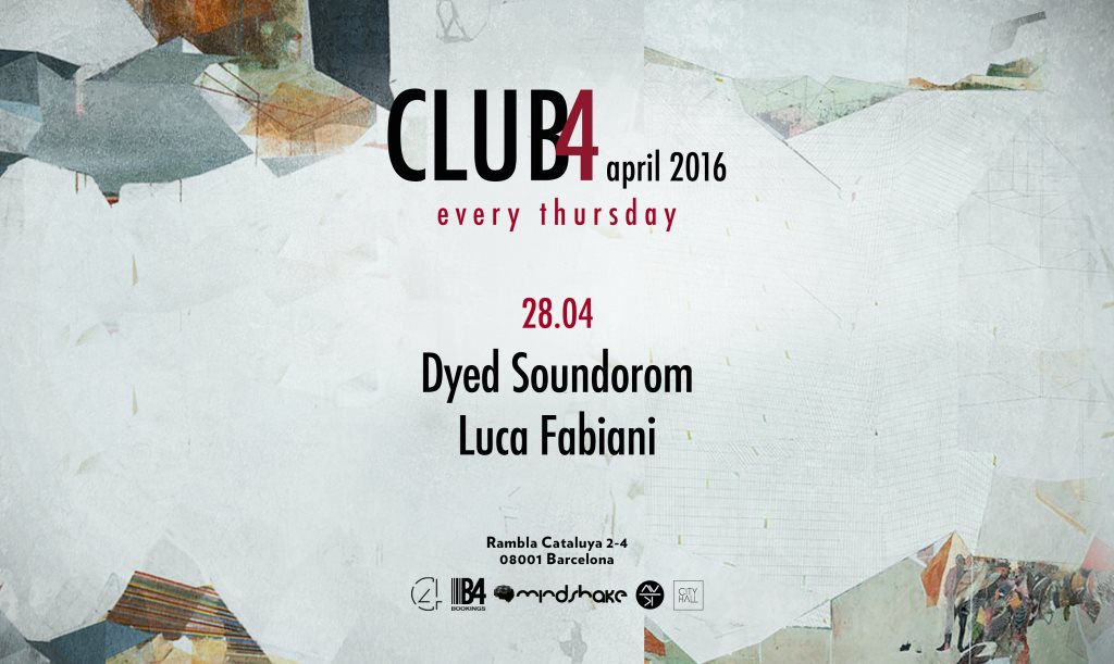 download → Luca Fabiani - live at Club4, Barcelona - 28-Apr-2016