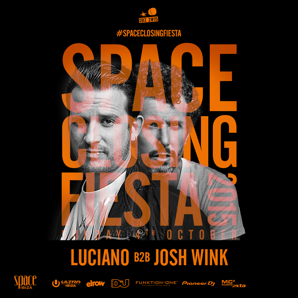 download → Luciano B2B Josh Wink - live at Space Closing Fiesta 2015, Main Room, Space, Ibiza - 04-Oct-2015