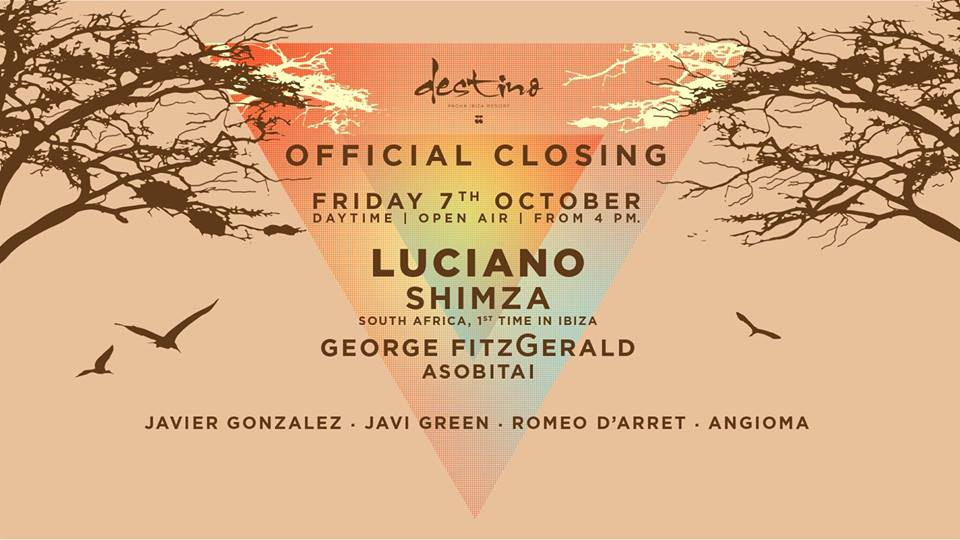 download → Luciano - Destino Closing Party 2016 (Ibiza) - 720p HD - 07-Oct-2016