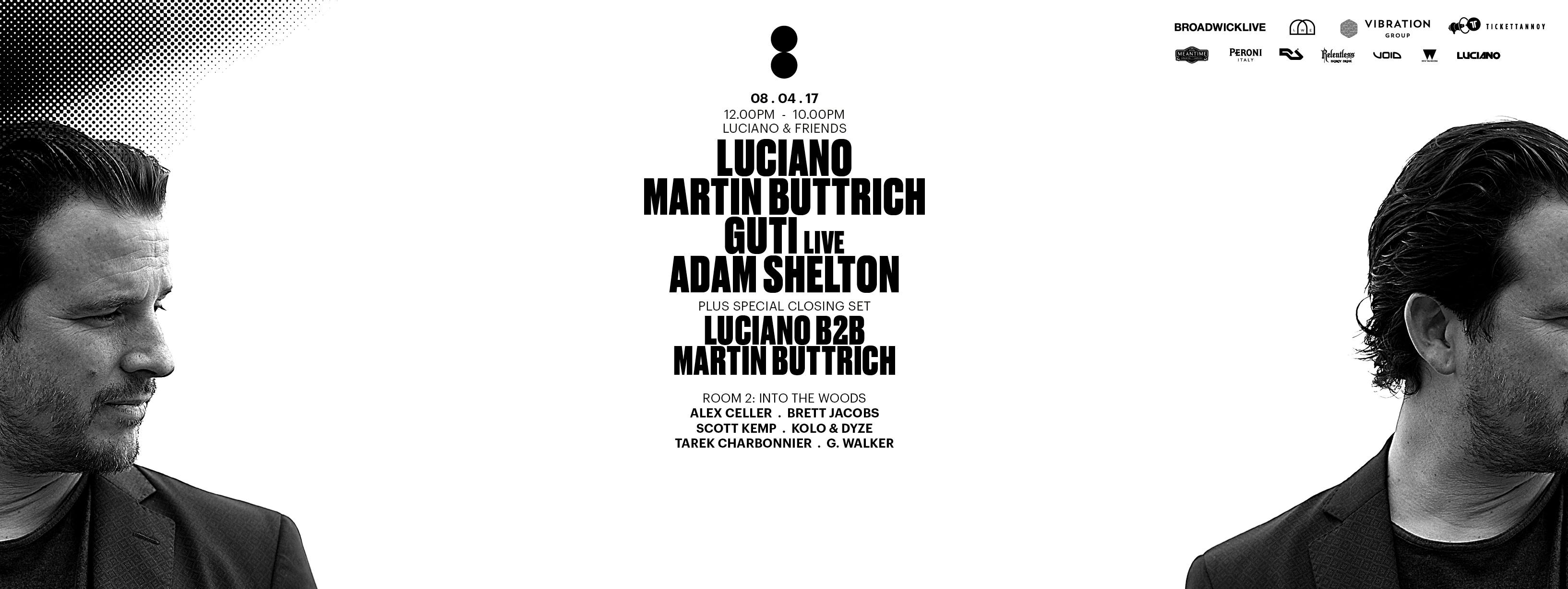 download → William Djoko - live at Luciano & Friends (Printworks, London) - 08-Apr-2017