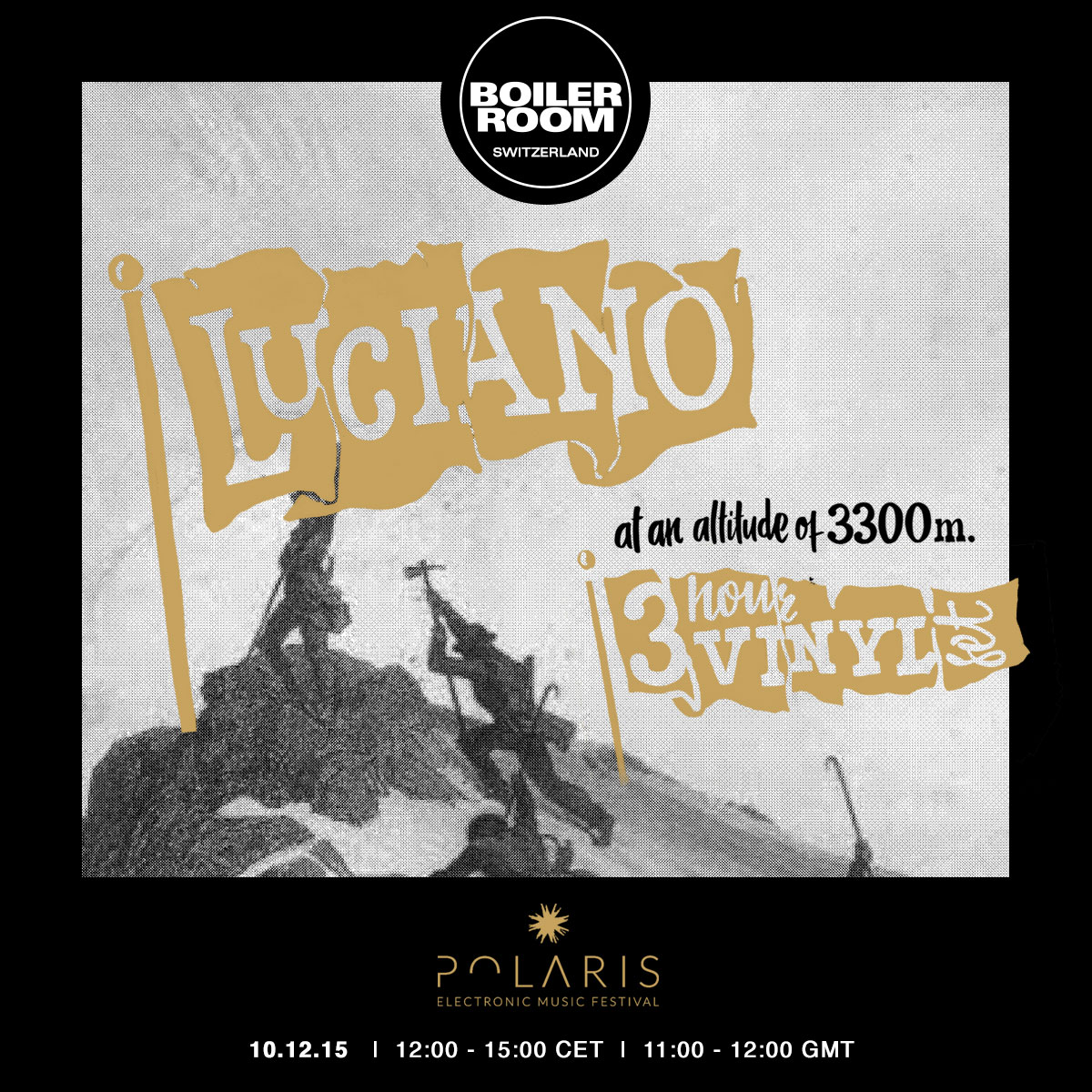 download → Luciano - live at Boiler Room Switzerland (Vinyl Set at 3300m Altitude) - 10-Dec-2015