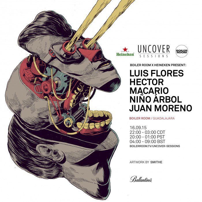 download → Luis Flores - live at Boiler Room Guadalajara - 16-Sep-2015