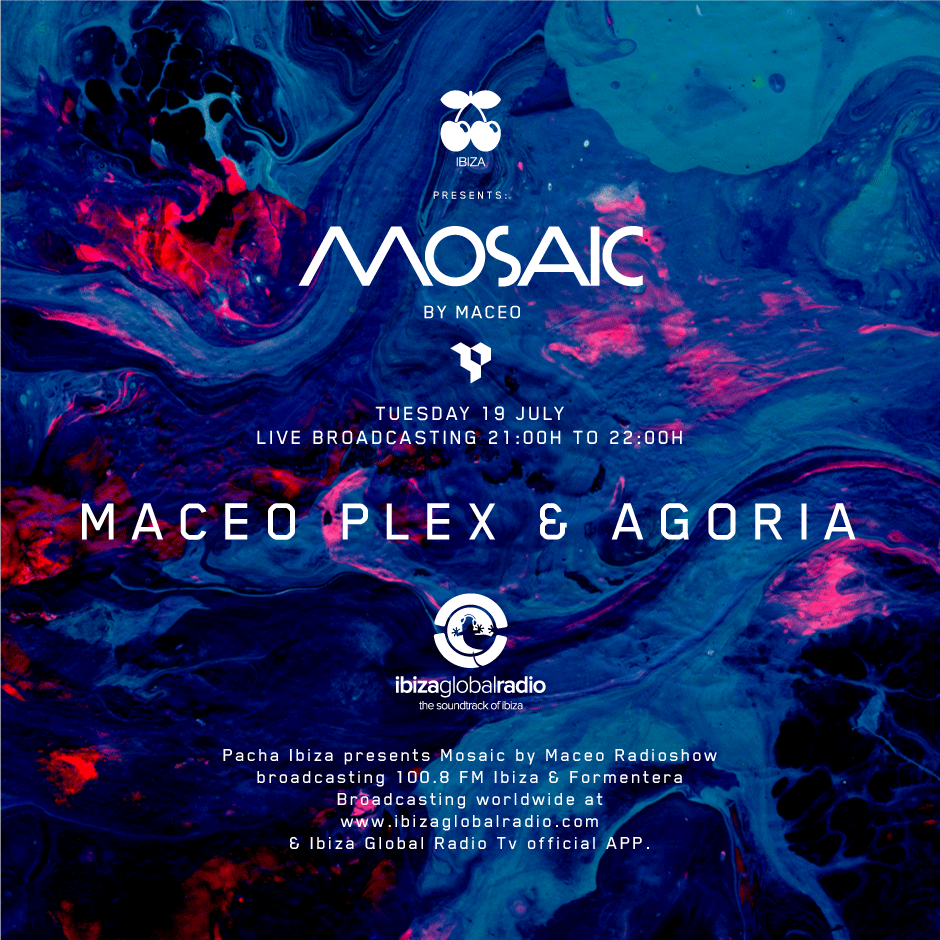 download → Maceo Plex b2b Agoria - Live at Ibiza Global Radio (Mosaic) - July 2016