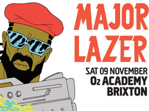 download → Major Lazer - Live at Brixton Academy, London, UK, 720p Stream - 09-Nov-2013