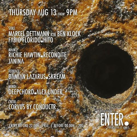 download → Marcel Dettmann B2B Ben Klock - Live At ENTER.Sake, Week 7, Space (Ibiza) - 13-Aug-2015