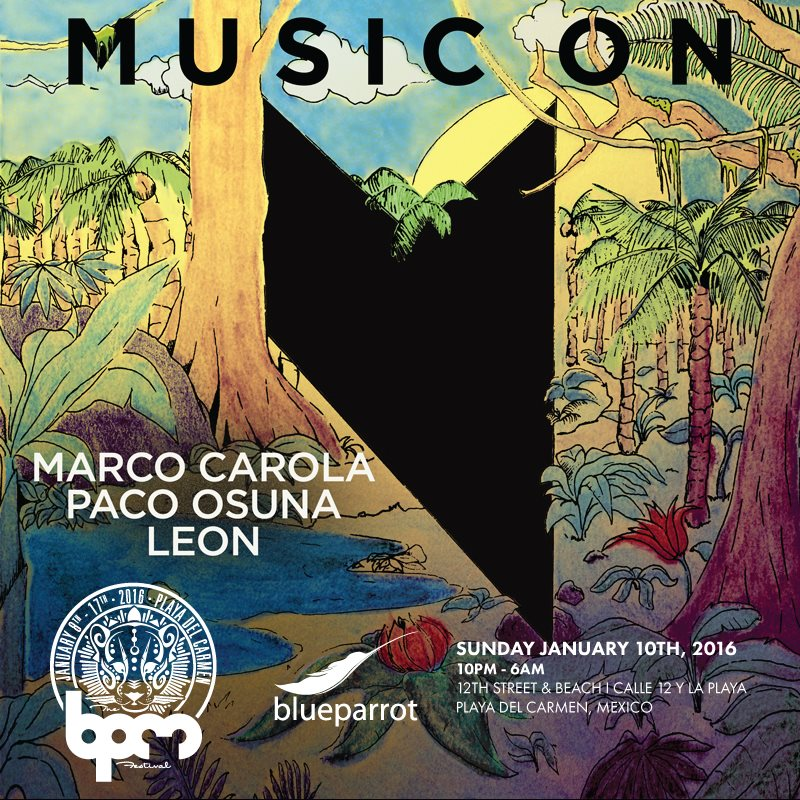 download → Marco Carola - live at Music On, Blue Parrot (The BPM 2016, Mexico) - 10-Jan-2016