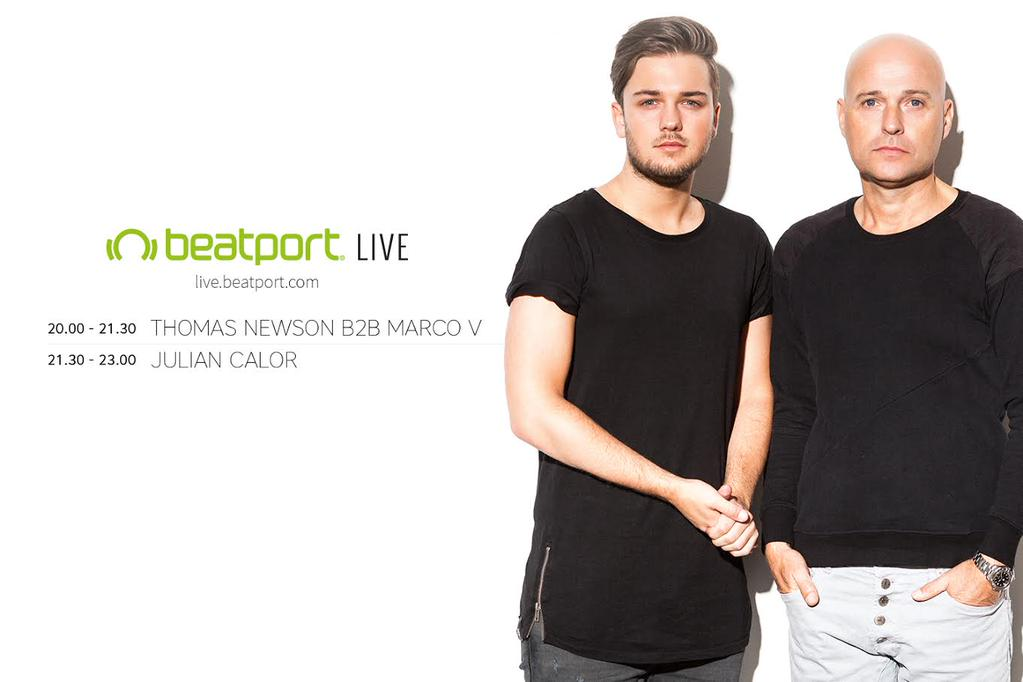 download → Marco V b2b Thomas Newson - live at Beatport Lounge, Amsterdam - 29-Sep-2015