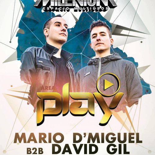download → Mario D'Miguel b2b David Gil - live at 20 Aniversario Milenium (Play Puro Techno) - 2015