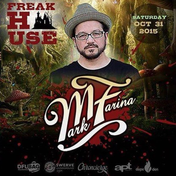 download → Mark Farina, 1st Nature, Wally Callerio - live at Halloween 2015 Party, Freak House - 31-Oct-2015