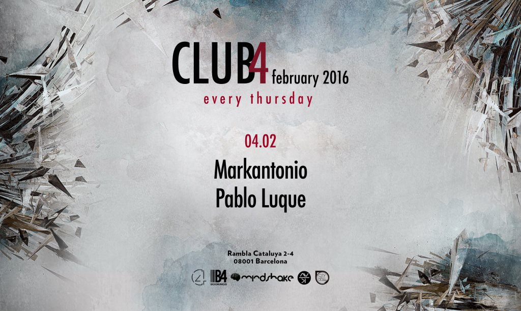 download → Markantonio - live at Club4 (Barcelona) - 04-Feb-2016