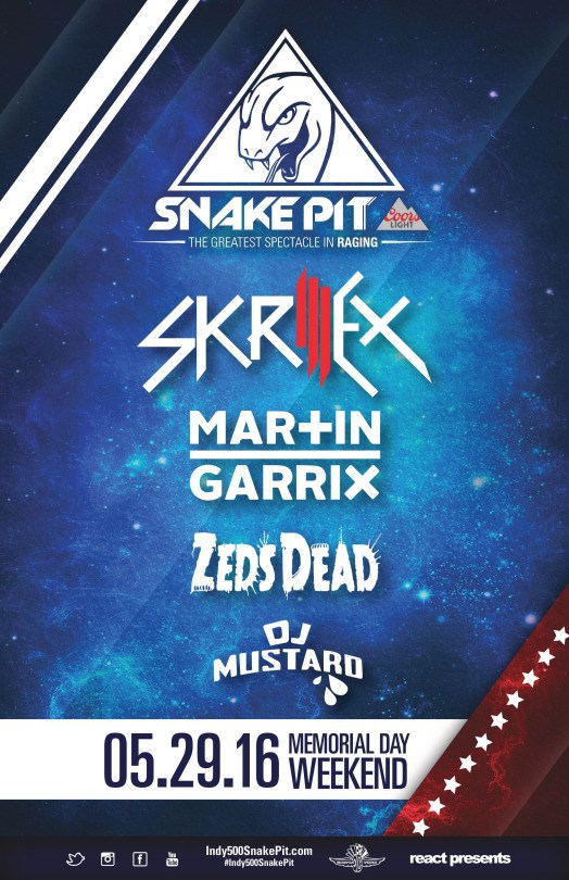 download → Martin Garrix - live at Indy 500, Snake Pit (Indianapolis, USA) - 29-May-2016
