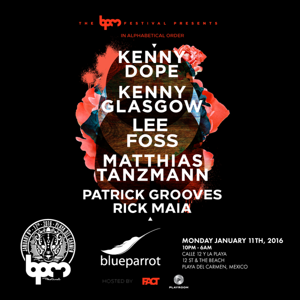 download → Kenny Dope - live at BPM Presents, Blue Parrot (The BPM 2016, Mexico) - 12-Jan-2016