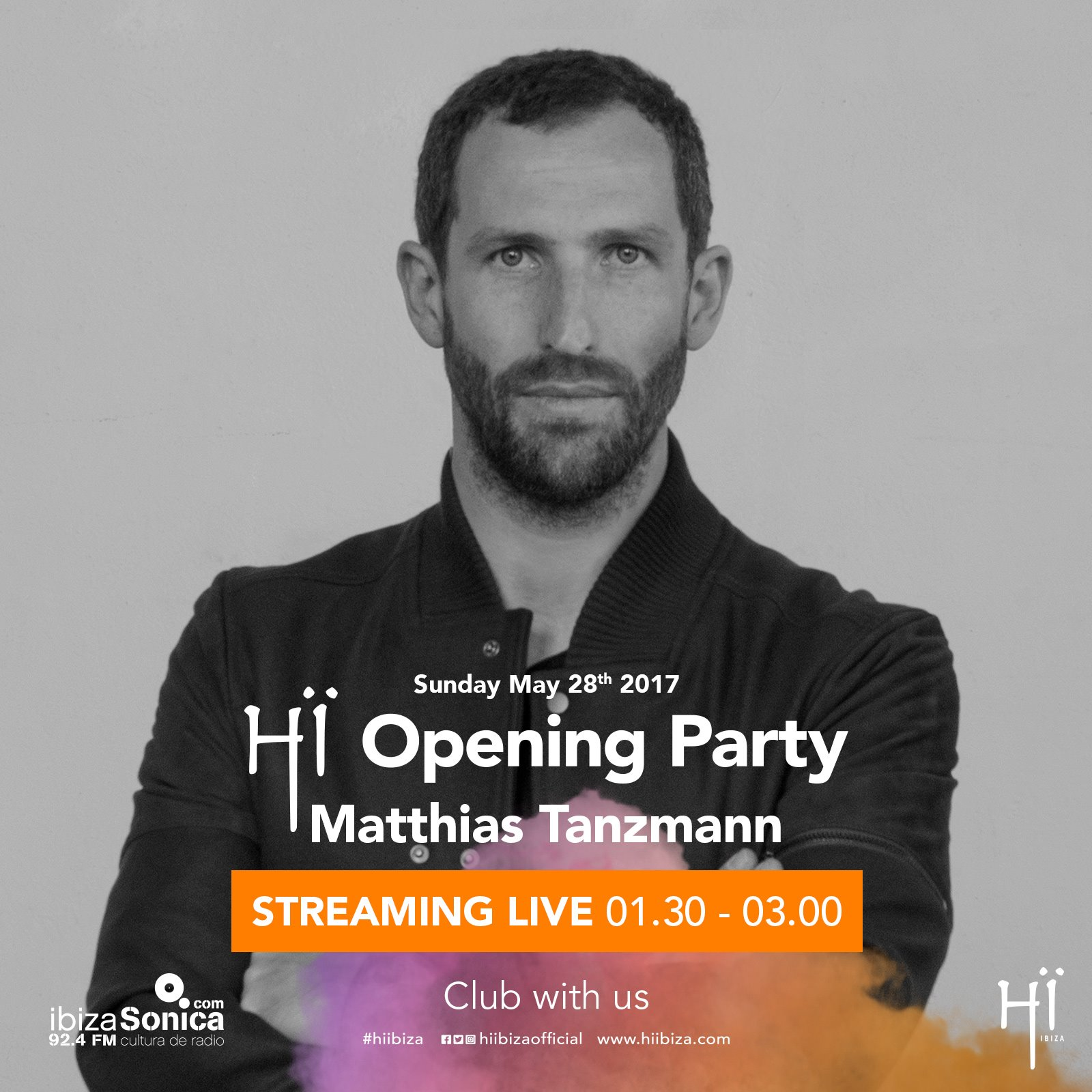 download → Matthias Tanzmann - live at HI IBIZA Opening Party 2017 (ex-Space Club, Ibiza) - 28-May-2017