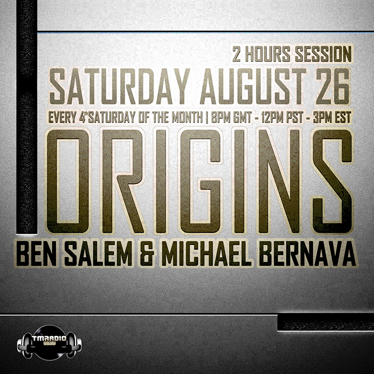 download → Michael Bernava, Ben Salem - Origins 017 on TM Radio - 26-Aug-2017