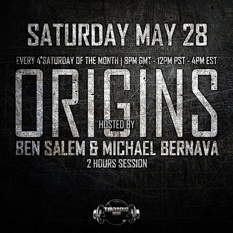 download → Michael Bernava, Ben Salem - Origins EP2 on TM Radio - 28-May-2016