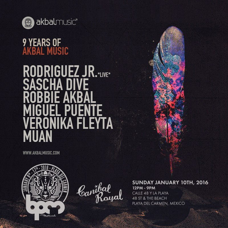 download → Miguel Puente - live at 9 Years of Akbal Music, Canibal Royal (The BPM 2016, Mexico) - 10-Jan-2016
