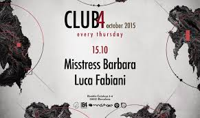 download → Misstress Barbara - live at Club4 (Barcelona) - 15-Oct-2015